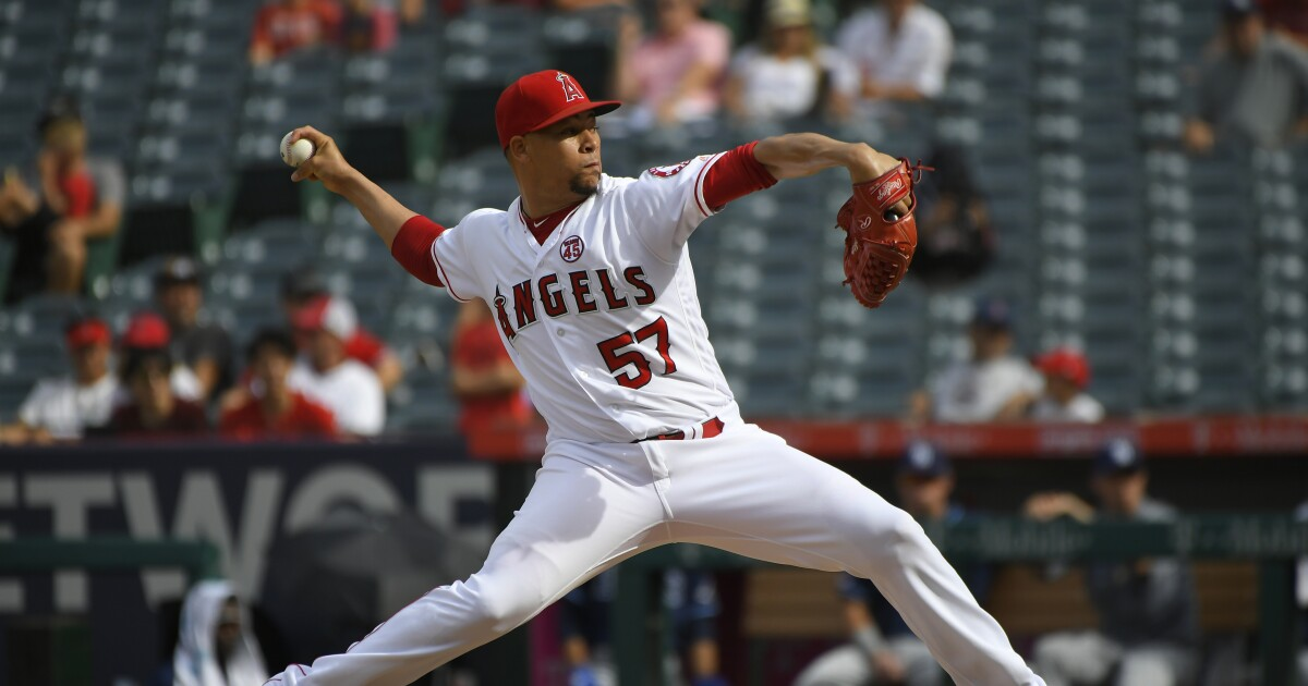 Angels closer Hansel Robles has been alarmingly ineffective