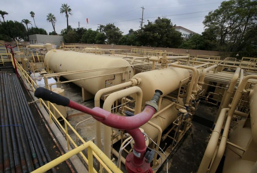 Allenco oil pumping facility in University Park