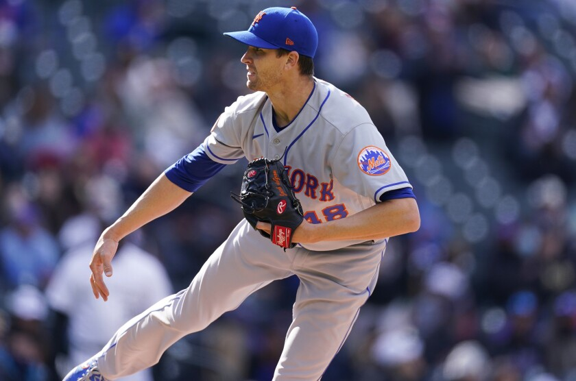 Mets split doubleheader with Rockies