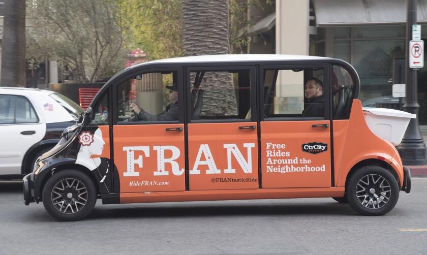 The FRAN shuttle