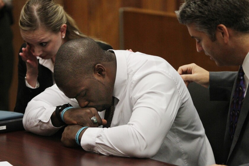 Brian Banks, who was wrongly convicted of raping a classmate a decade ago, had his conviction dismissed and has now signed a contract with the NFL's Atlanta Falcons.