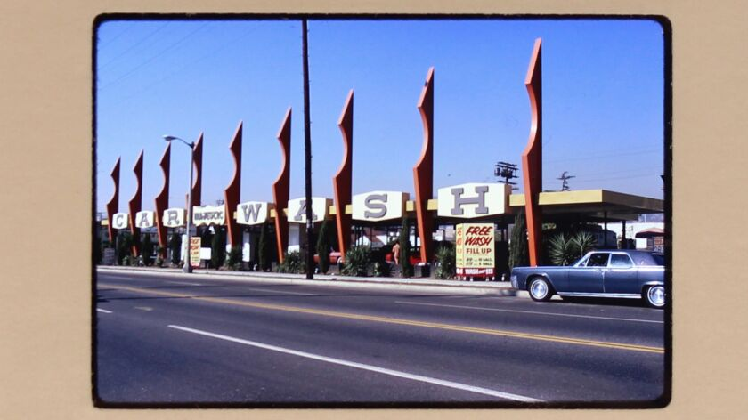 A 1971 streetscape captured by the L.A. collective Environmental Communications.