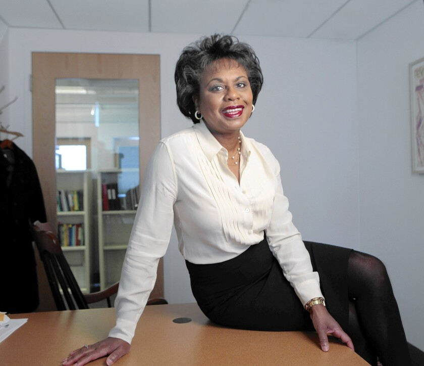 """Brandeis University law professor Anita Hill is the subject of the documentary """"Anita,"""" which opened Friday in L.A. and New York."""