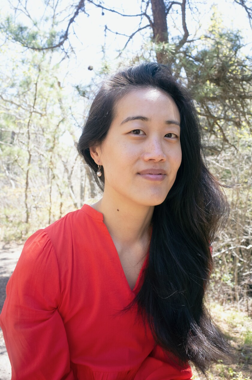 Undocupoets organizer and 2017 fellowship recipient Esther Lin.