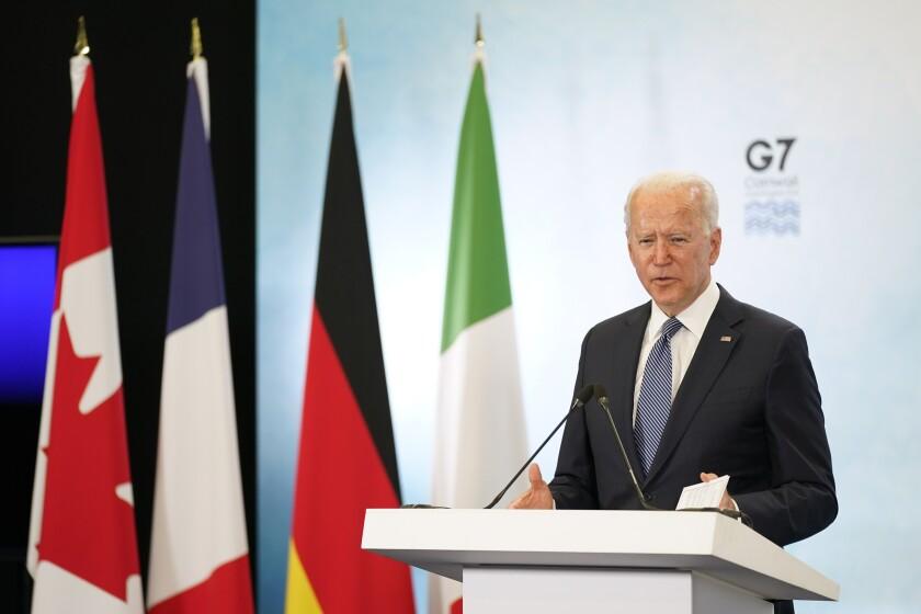 G7 donará 1.000 millones de vacunas anti COVID-19 a países pobres