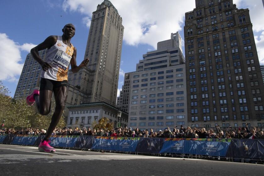 APTOPIX NYC Marathon