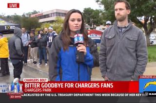 Sad day for San Diego