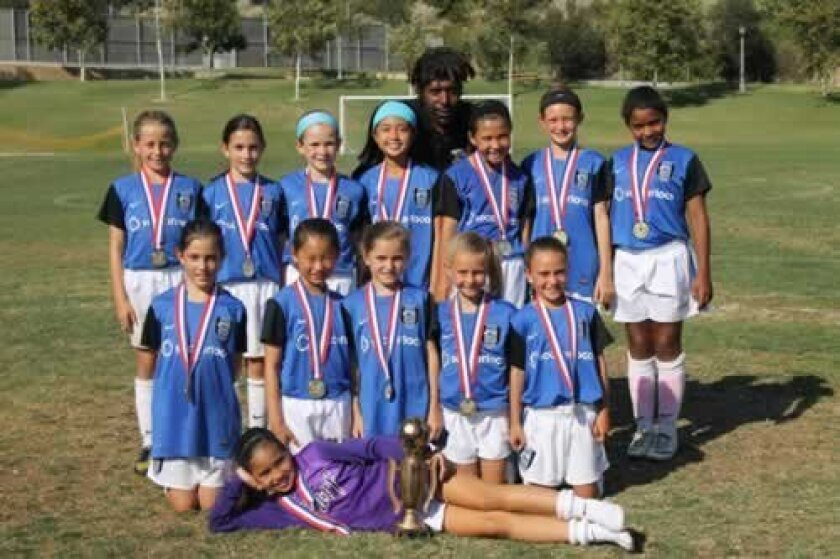 Front: Riana Kitchen. Middle row: Corinne Wilson, Allison Luo, Grace Tecca, Mia Myers and Stormy Wallace. Back row: Abby Beamer, Caitlin Wilson, Lizzy Hood, Ashley Pham, Presely McDeavitt, Deming Wyer and Kaileigh Bolden. Back: Coach Steve Leacock.