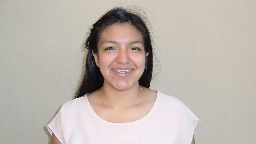 Consuelo Guerrero, 15, is among Orange Glen HS students starting the Simon program this summer.