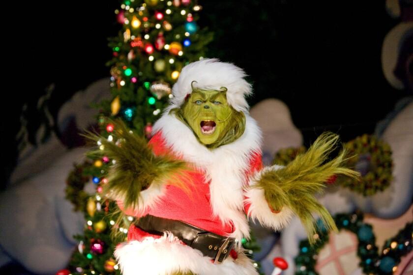 Grinch. Universal Studios Hollywood
