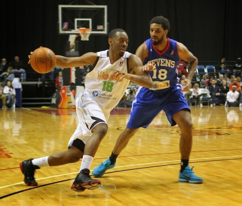 Former SDSU star Xavier Thames now plays for the Fort Wayne Mad Ants of the NBA D-League.