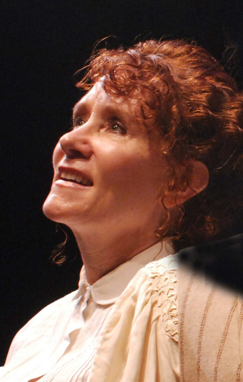 """Cynthia Gerber will star in Lamb's Players Theatre's """"The Belle of Amherst"""" Oct. 2 through Nov. 14, 2021."""