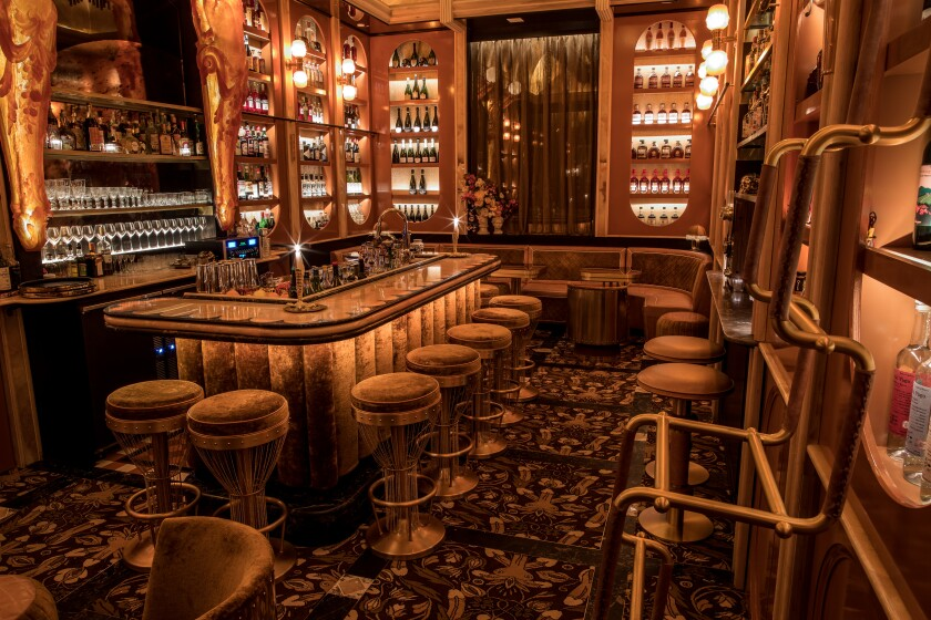 Young Blood, a new 30-seat hidden bar in East Village, opened in April.