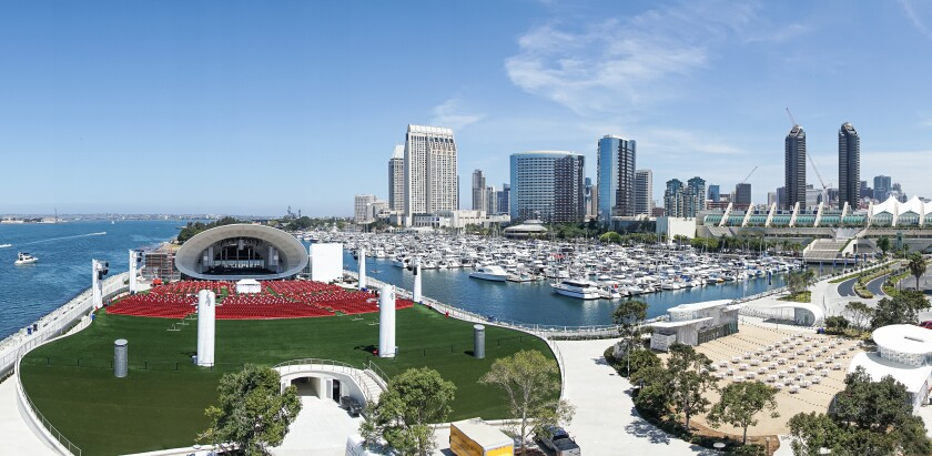 The San Diego Symphony's new Rady Shell at Jacobs Park