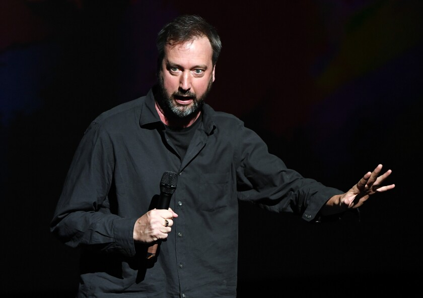 A 2016 photo of Tom Green at Criss Angel's HELP Charity Event Benefiting Pediatric Cancer Research And Treatment