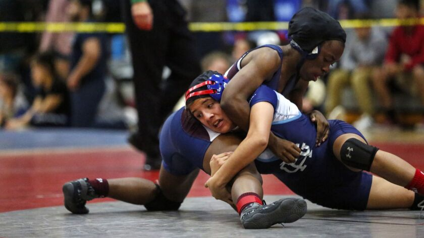For the first time, the San Diego Section girls wrestling championships will be staged in two divisions with the masters meet Feb. 14 at Steele Canyon.