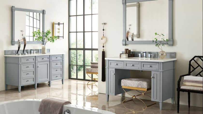 Accessibility gets stylish with ADA-friendly vanity series. Credit: James Martin Signature Vanities