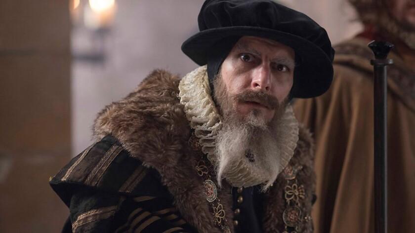 "Matthew Baynton as William 'Bill' Shakespeare from the movie ""Bill."""