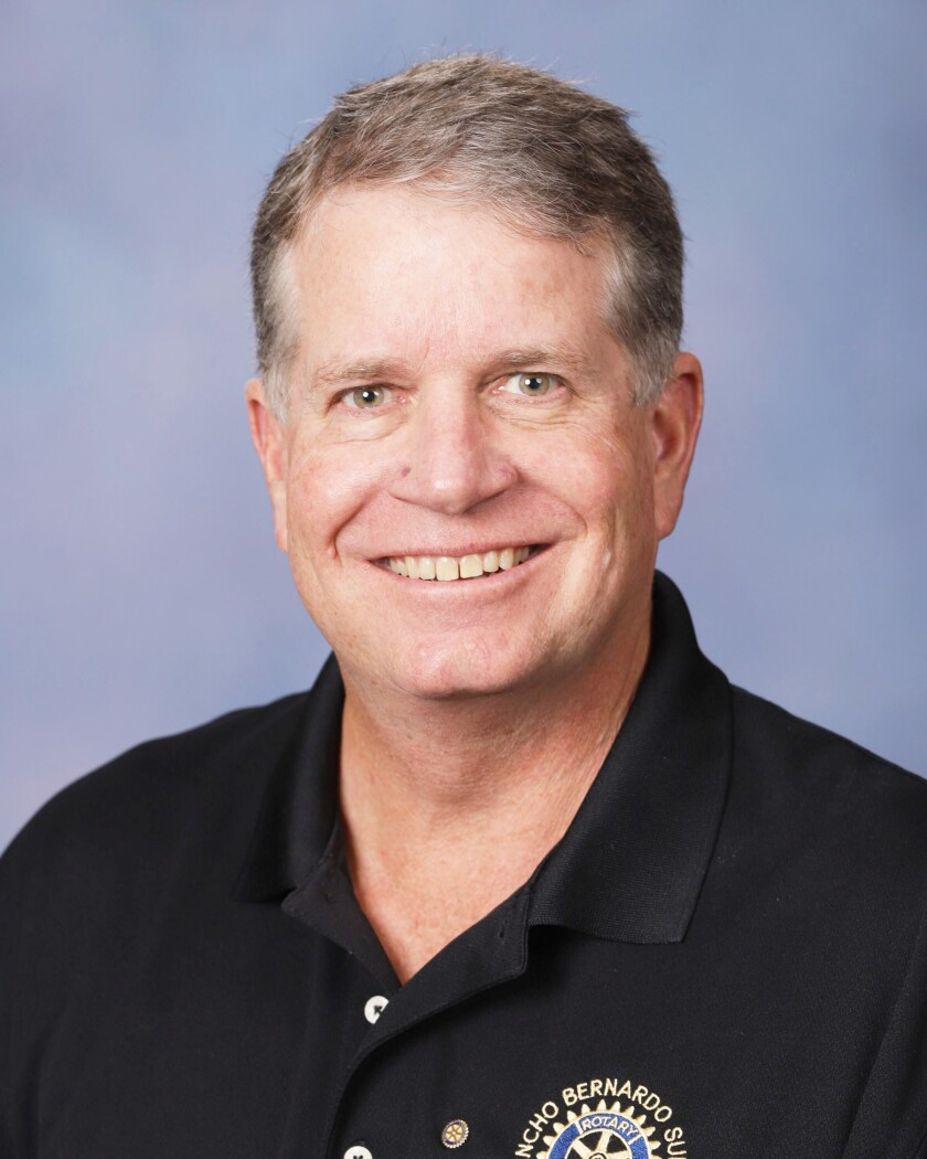 Jeb Bakke, Rancho Bernardo Sunrise Rotary Club 2020-21 president