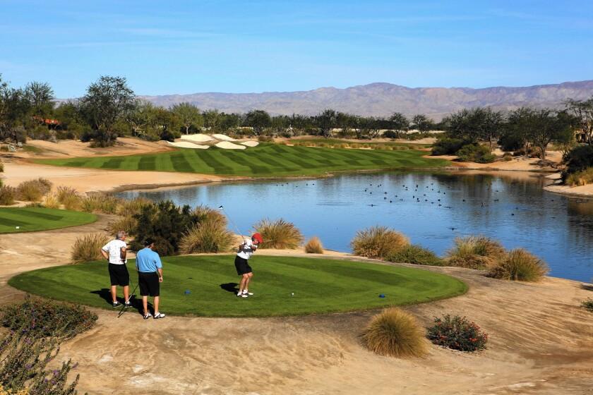 PGA West's Greg Norman course