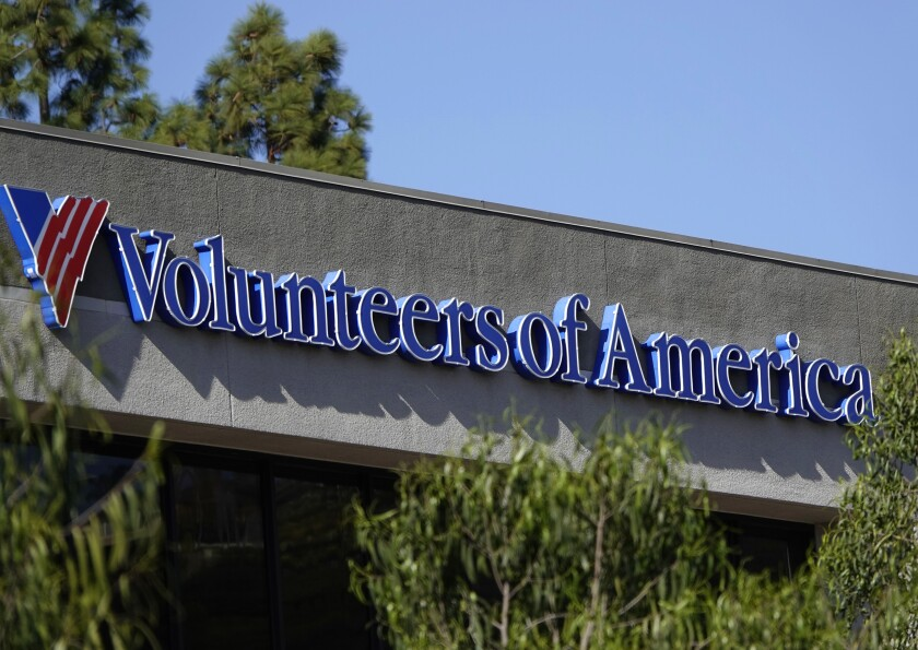 The Volunteers of America Southwest building in Mission Valley