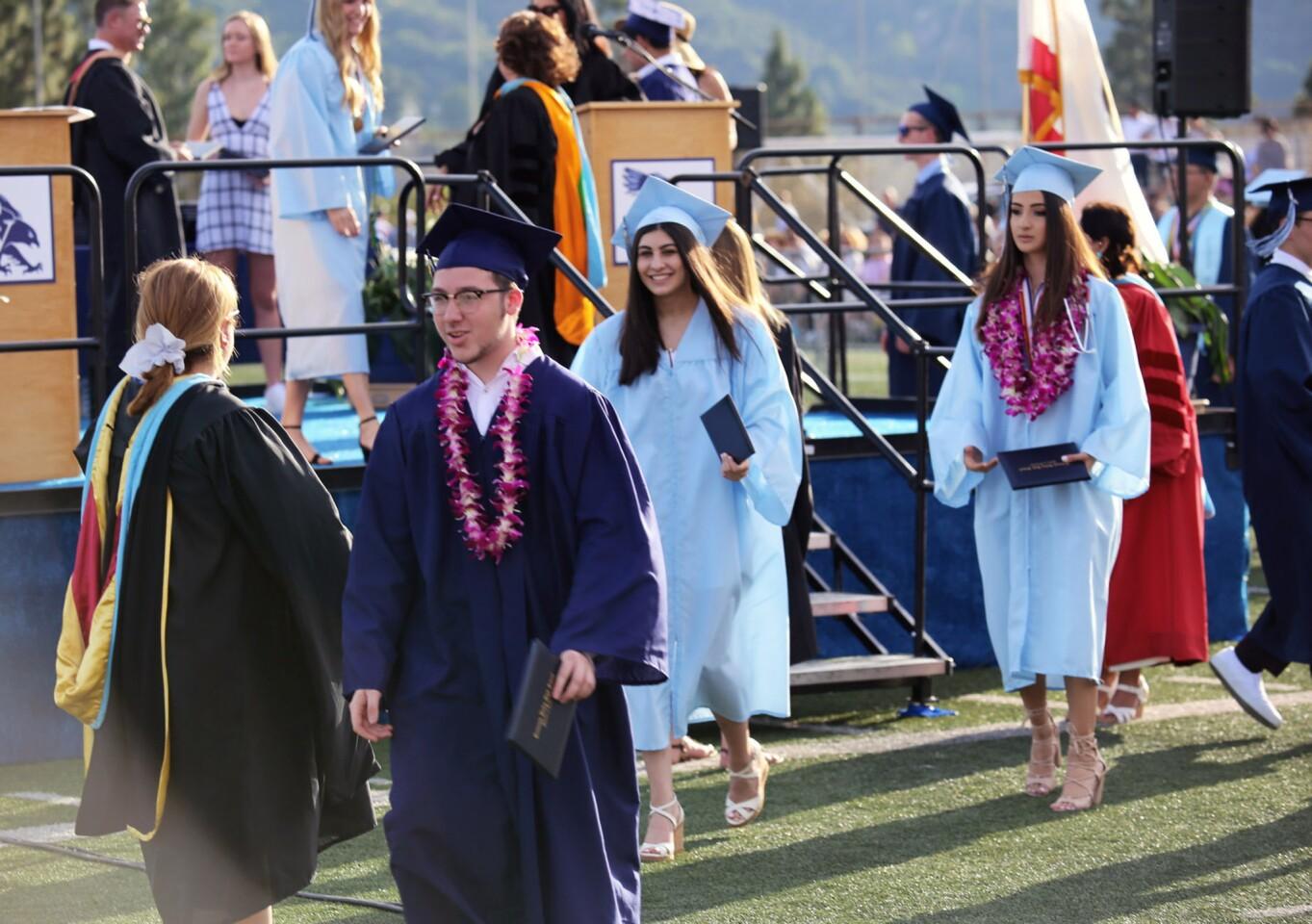 Photo Gallery: Crescenta Valley High School graduation 2019