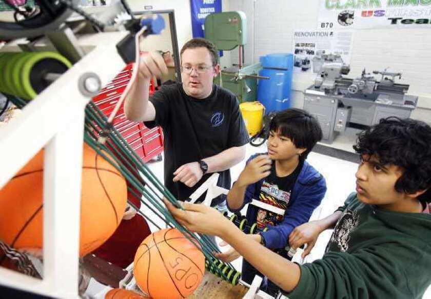 Glendale Unified's Clark Magnet gets second Blue Ribbon distinction