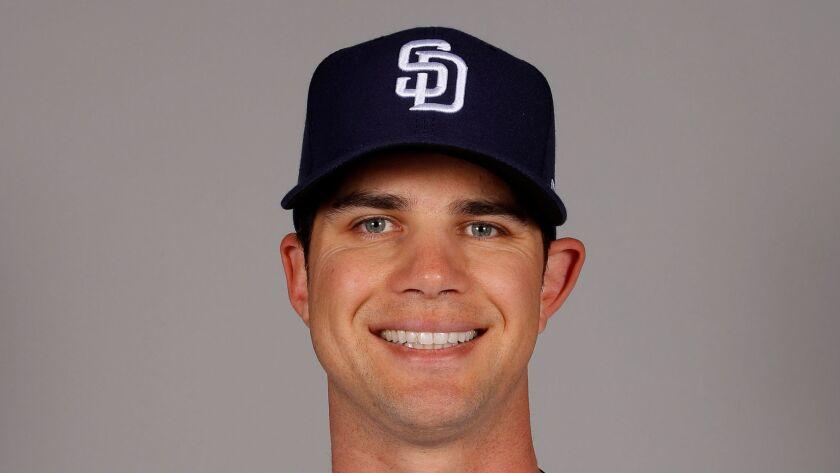 Padres pitcher Robert Stock.