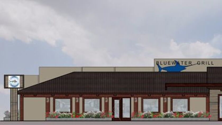 Artist rendering of Bluewater Grill Carlsbad.