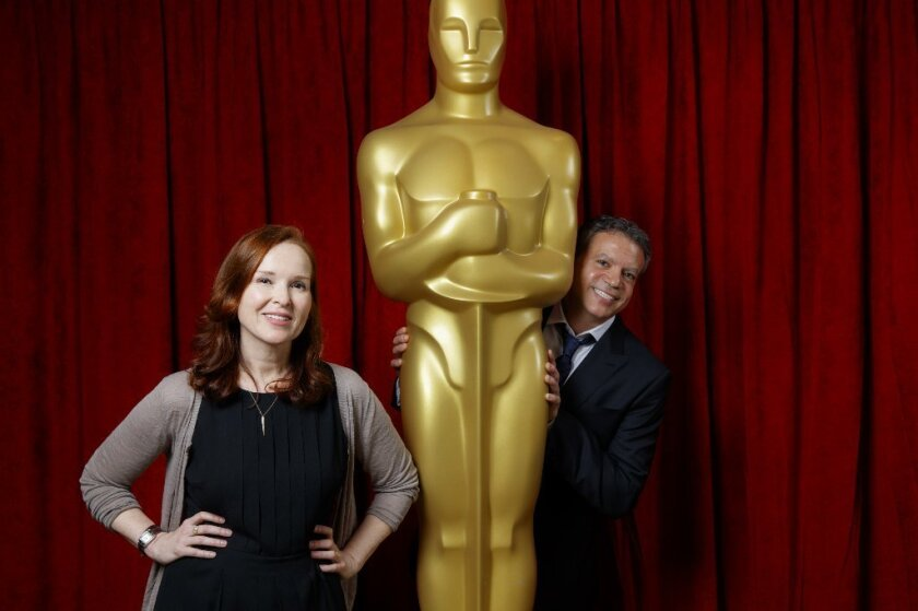 """Producers Jennifer Todd and Michael De Luca intend to bring """"an overarching tone of joy"""" to the Oscars ceremony on Feb. 26."""