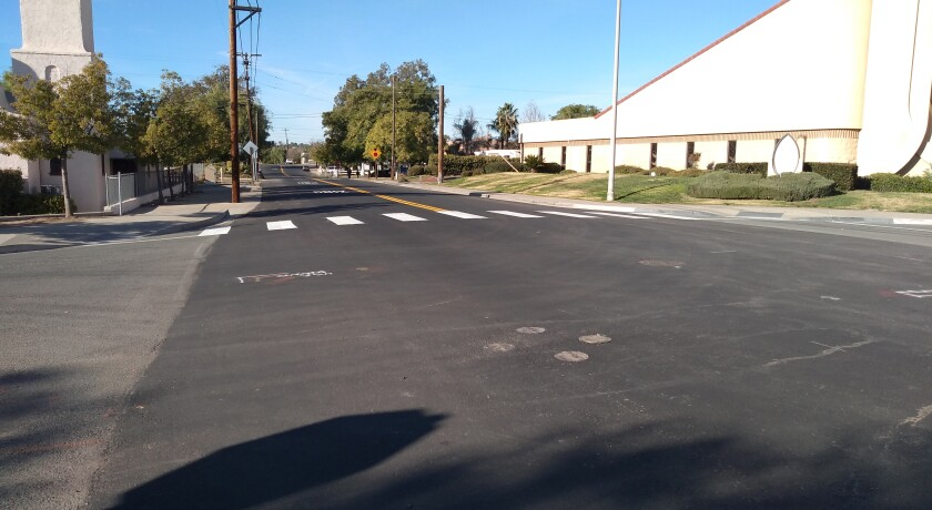 Ramona Municipal Water District is expected to pay for road repairs at Sixth and E streets following recent pipeline repairs.