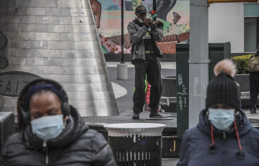 Virus Outbreak Race New York