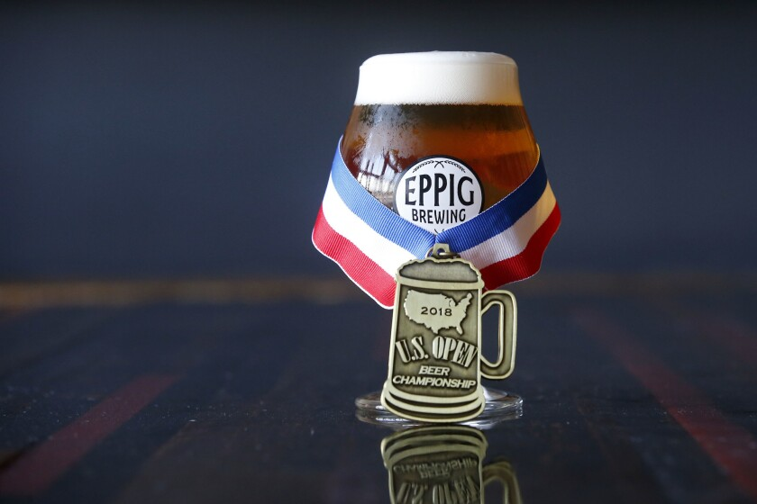 Eppig Brewing's Second Anniversary and Repeal Day Celebration.