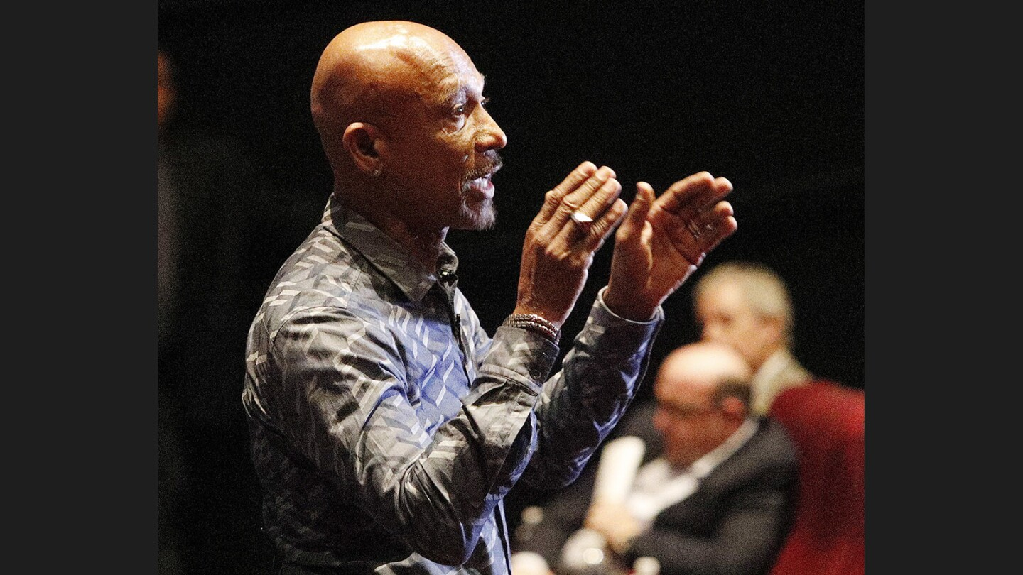 Photo Gallery: Montel Williams introduces documentary Architects of Denial at Americana at Brand