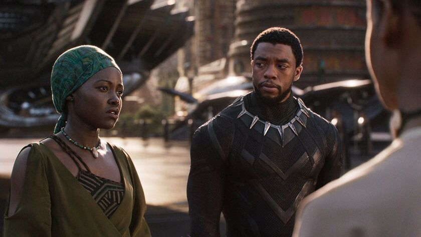 Hollywood sails to a box-office record, thanks to 'Black Panther' and other hits