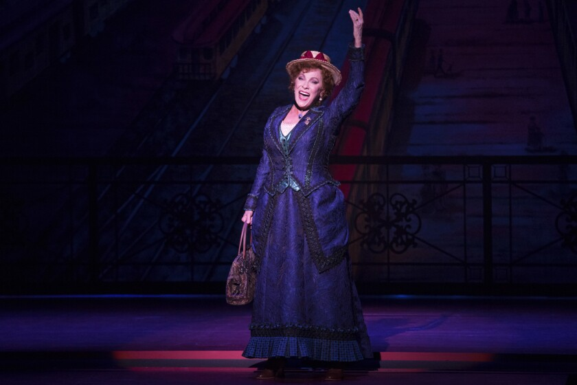 """Betty Buckley in the """"Hello, Dolly!"""" National Tour - 2018. This National Tour of the Tony-Winning Br"""