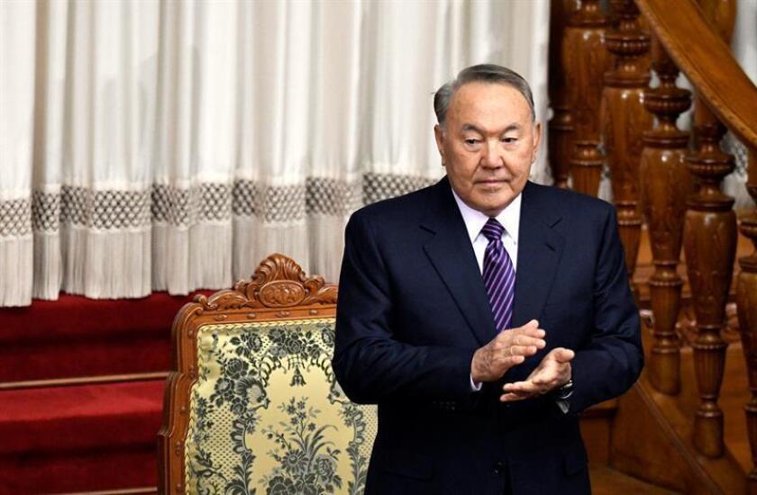 El Consejo de Seguridad de la ONU anunció hoy que el 18 de enero sostendrá una reunión de alto nivel sobre no proliferación de armas de destrucción masiva que estará encabezada por el presidente kazajo, Nursultán Nazarbáyev. EFE/ARCHIVO