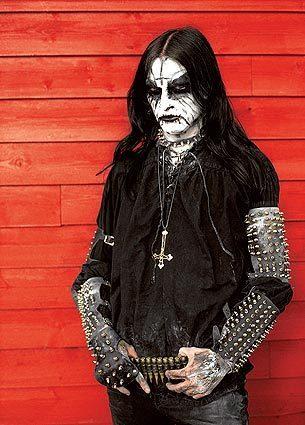 """Images from """"True Norwegian Black Metal"""" by Peter Beste"""