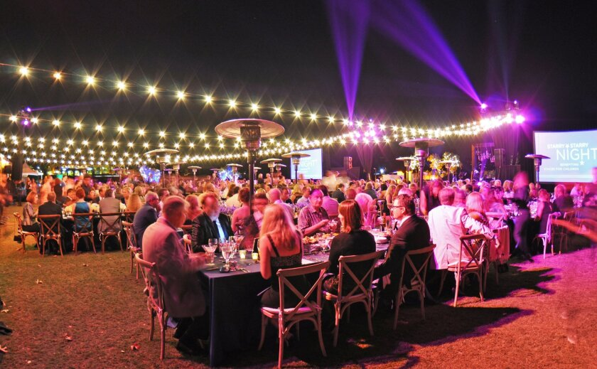 A past Starry Starry Night gala benefiting Voices for Children