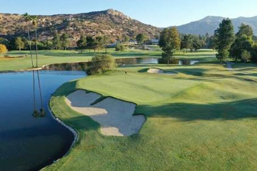 The freshly updated San Vicente Golf Resort golf course in Ramona was unveiled with a soft opening Sunday, Jan. 31.
