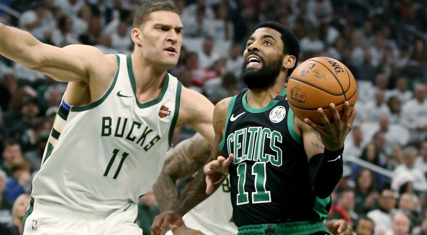 Boston Celtics v Milwaukee Bucks - Game One