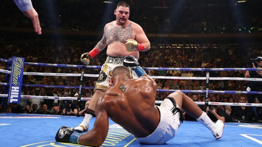 Andy Ruiz Jr  TKOs Anthony Joshua, becomes first heavyweight champ