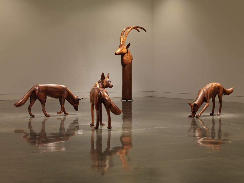 Gwynn Murrill Coyote Antelope
