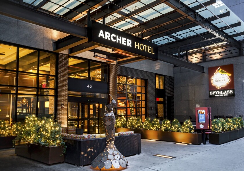 For Archer Hotels' Leap Year 2020 deal, rooms at the midtown Manhattan Archer start at $156. The deal applies to prepaid rates for bookings made on Leap Day.