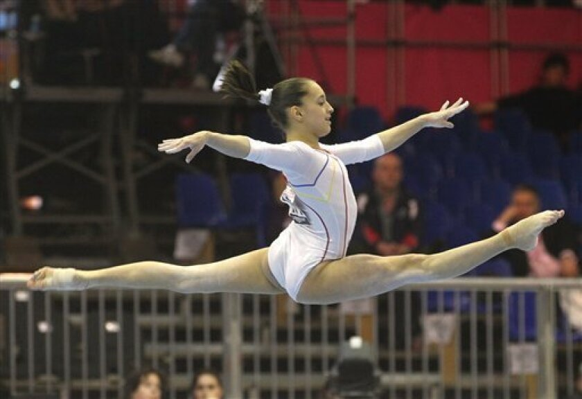 Romania wins European gymnastic title, tops Russia - The San Diego