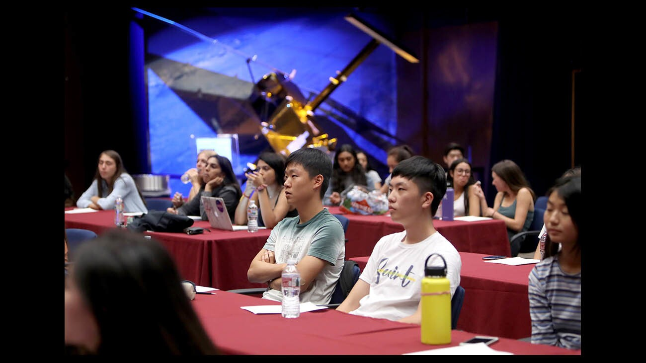 Photo Gallery: La Canada High students participate in the annual JPL Academy