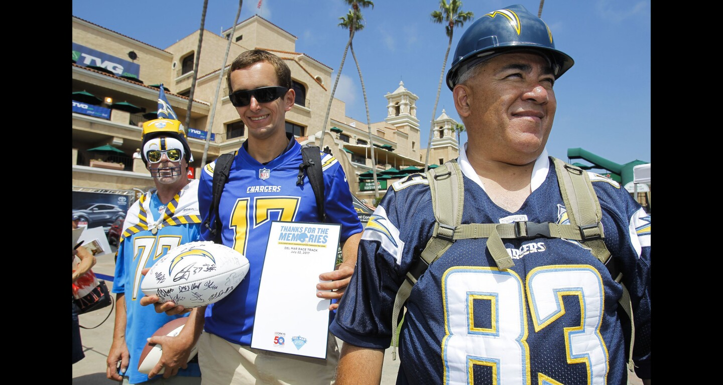 Chargers Day at Del Mar
