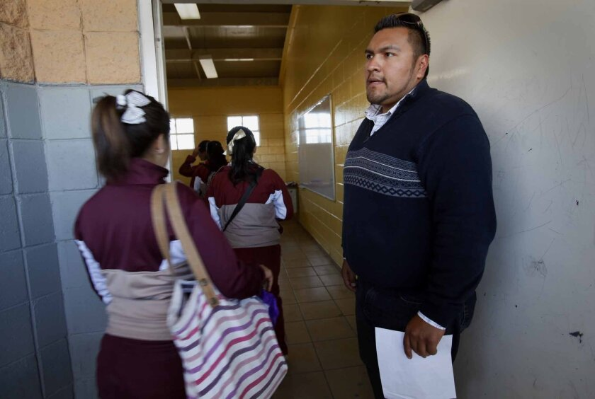 """""""They make decisions more easily and quickly than other students,"""" said math teacher Bernardo Gilmar, describing the U.S. transfer students. """"In that sense they are more self-sufficient."""""""