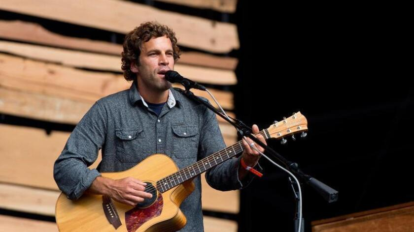 Jack Johnson, pictured performing in London in 2014, played shows in San Diego for years before his career took off. (Ben A. Pruchnie)