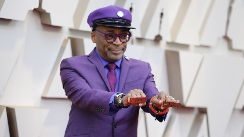 HOLLYWOOD, ?CA ? February 24, 2019 Spike Lee during the arrivals at the 91st Academy Awards on Sund